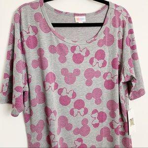 NWT Lularoe Julia Disney Mickey Minnie